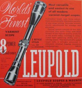 IMG LEU2 278x300 - VINTAGE LEUPOLD SCOPES